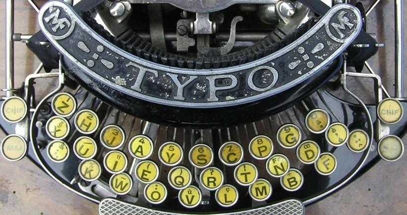 Clavier de Typo